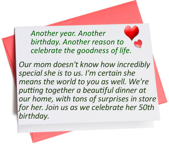 Birthday Quotes Invitation For Adults. QuotesGram