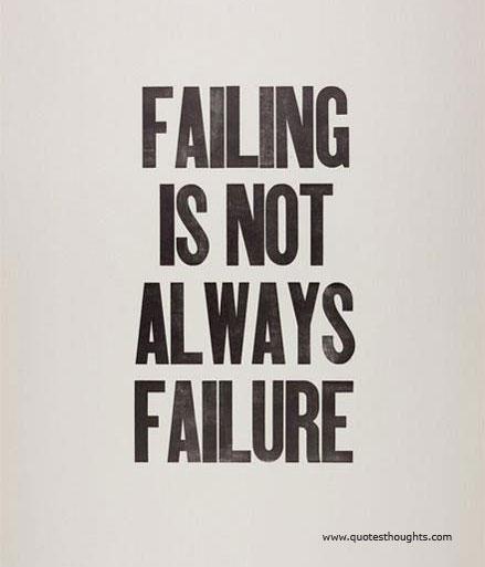 Inspirational Quotes About Failure: Failure Good Quotes. QuotesGram