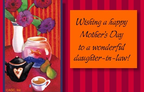 Daughter In Law Mothers Day Quotes