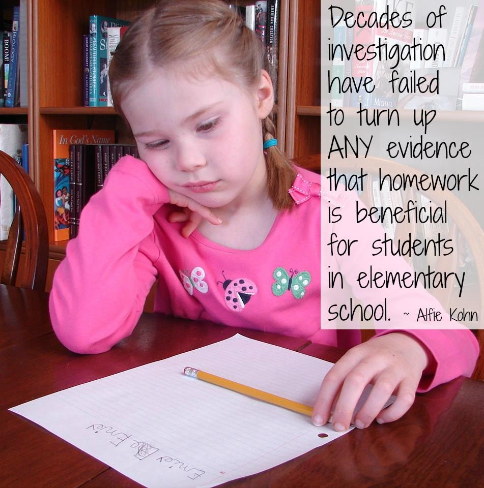 What Are The Benefits Of Banning Homework