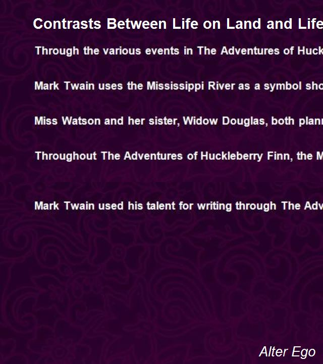 Quotes About The Mississippi River Huck Finn Quotesgram