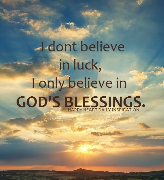 Quotes About Gods Blessings. QuotesGram