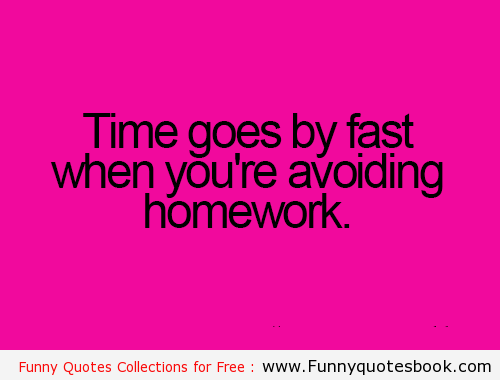 Quote about the benefits of homework