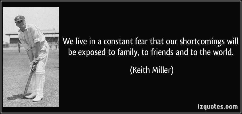 Exposing The Truth Quotes: Keith Miller Quotes. QuotesGram