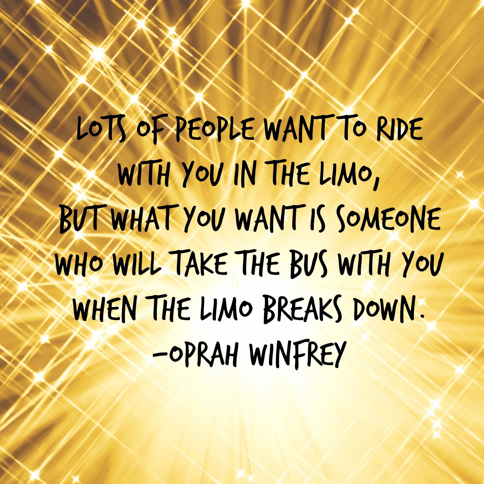 Oprah Winfrey New Year Quotes: Friendship Quotes By Oprah Winfrey. QuotesGram