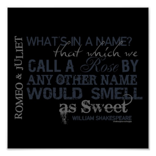 Shakespeare What Is In A Name Quote: Fate In Romeo And Juliet Quotes. QuotesGram