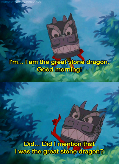 Mushu Quotes From Disney's Mulan - YouTube