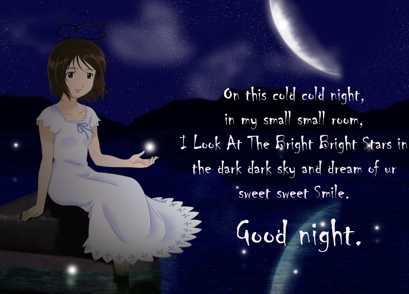 Night quotes sweet 79 Sweet