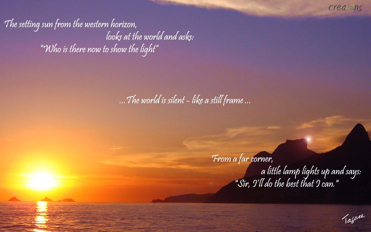 Setting Sun Quotes. QuotesGram