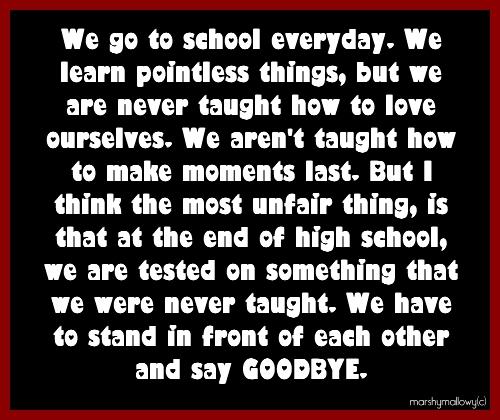 High School Graduation Farewell Quotes. QuotesGram