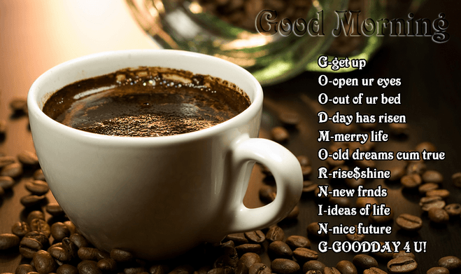 Good Morning Quotes For Him Quotesgram: Good Morning Coffee Quotes For Facebook. QuotesGram
