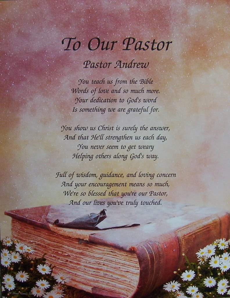 pastor appreciation As part of our ministry at lifeway pastors, we are making available a variety of resources to churches to assist you in showing your appreciation to your pastor and his family.