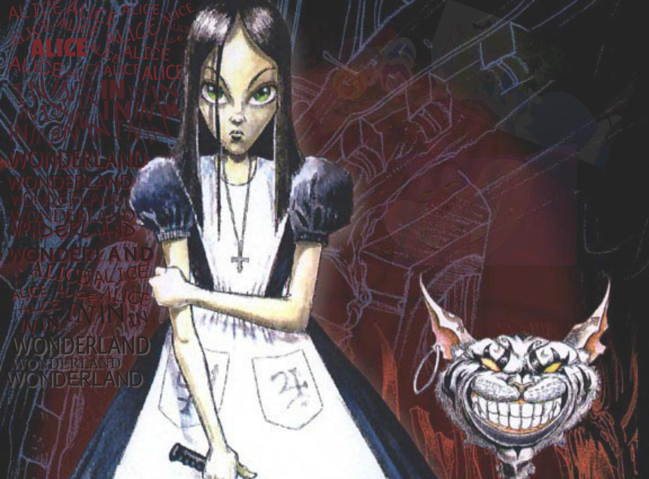 Mørk Alice I Wonderland Film