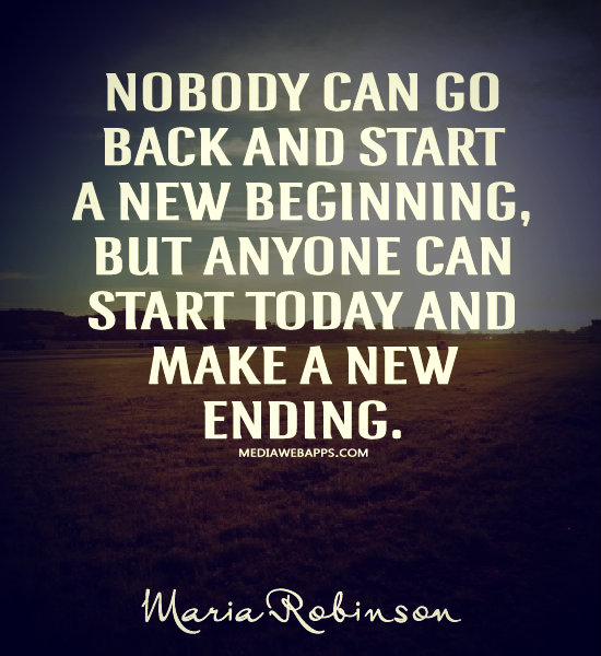New Relationship Love Quotes: Quotes New Beginnings And Endings. QuotesGram