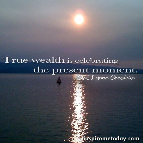 Motivational Inspirational Quotes: True Wealth Quotes. QuotesGram