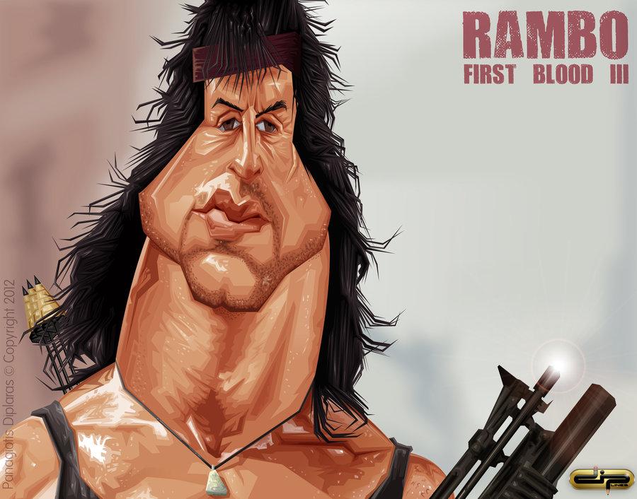 Рэмбо прикол картинка