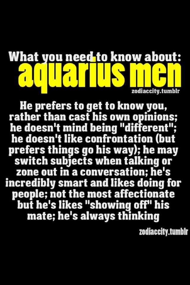 How to know an aquarius man loves you