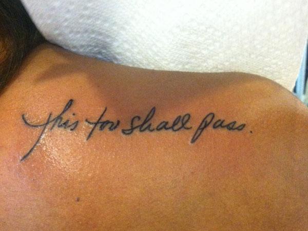 Short Female Tattoo Ideas Quotes: 3 Word Quotes For Tattoos. QuotesGram