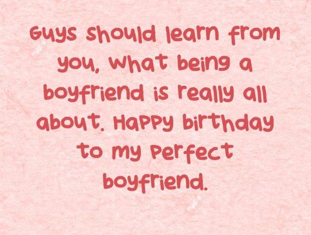 Happy Birthday To My Boyfriend Quotes. QuotesGram