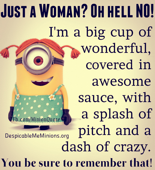 Loving A Woman With A Child Quotes: Minion Quotes Wtf. QuotesGram