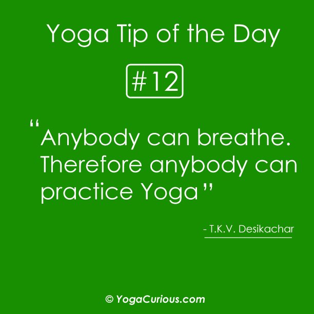 Inspirational quotes for yoga class quotesgram for Funny tip of the day quotes