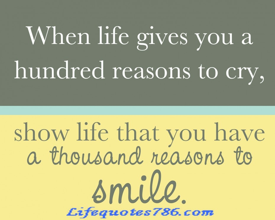 I Have Every Reason To Smile Quotes: Crying Inspirational Quotes. QuotesGram