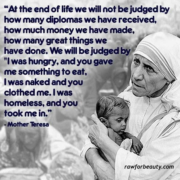 Mother Teresa Quotes: Mother Teresa Quotes On Serving Others. QuotesGram
