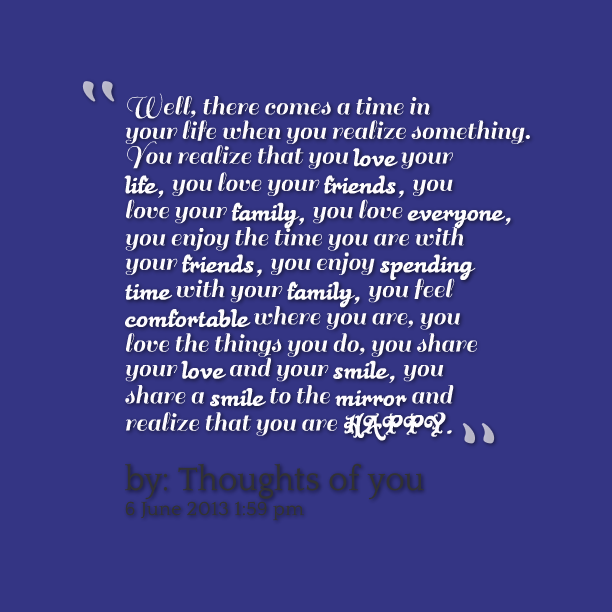When The Right Time Comes Quotes: When You Realize Quotes. QuotesGram