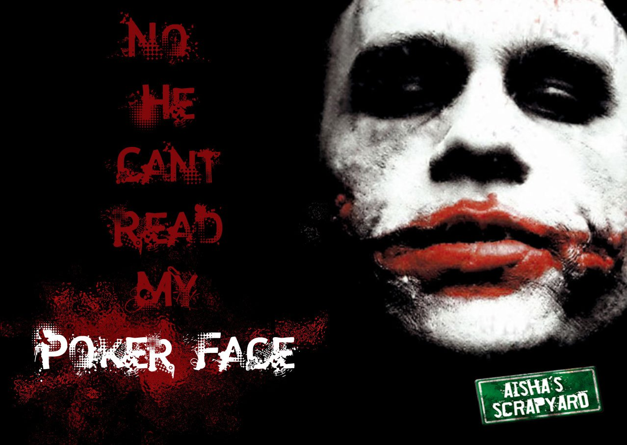 joker poker face