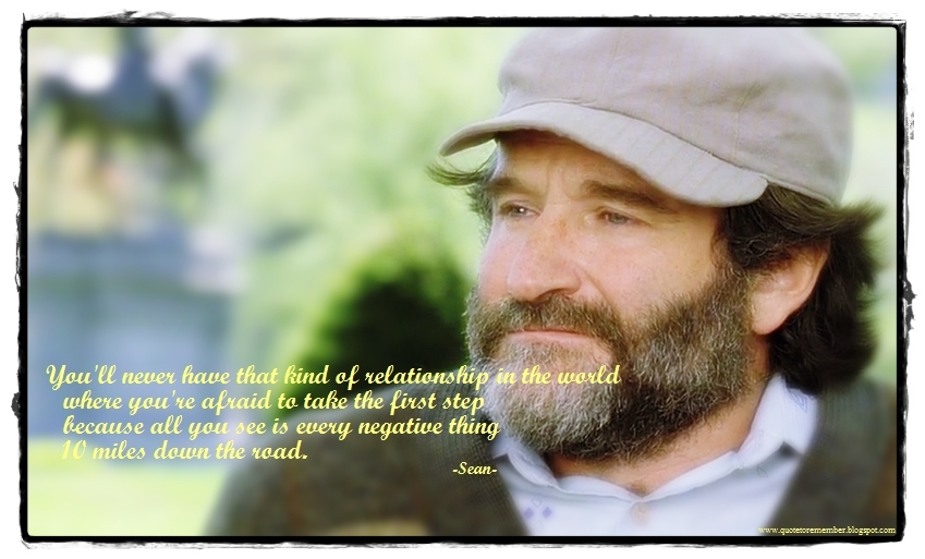 good will hunting sean quotes quotesgram