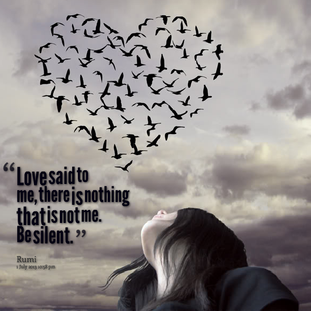 Silence Love Quote: Silent Love Quotes. QuotesGram