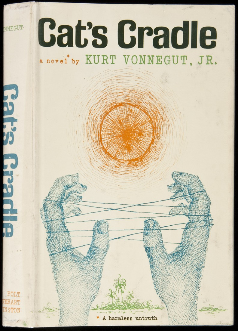 analysis of kurt vonneguts cats cradle The truths in society in cat's cradle, a novel by kurt vonnegut pages 2 words 1,424 view full essay more essays like this: not sure what i'd do without @kibin.