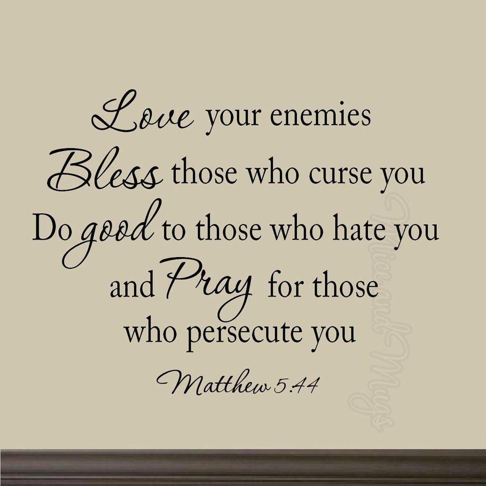 Bible Quotes Enemies: Bible Quotes For Enemies. QuotesGram