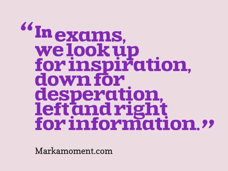 exam quotes quotesgram