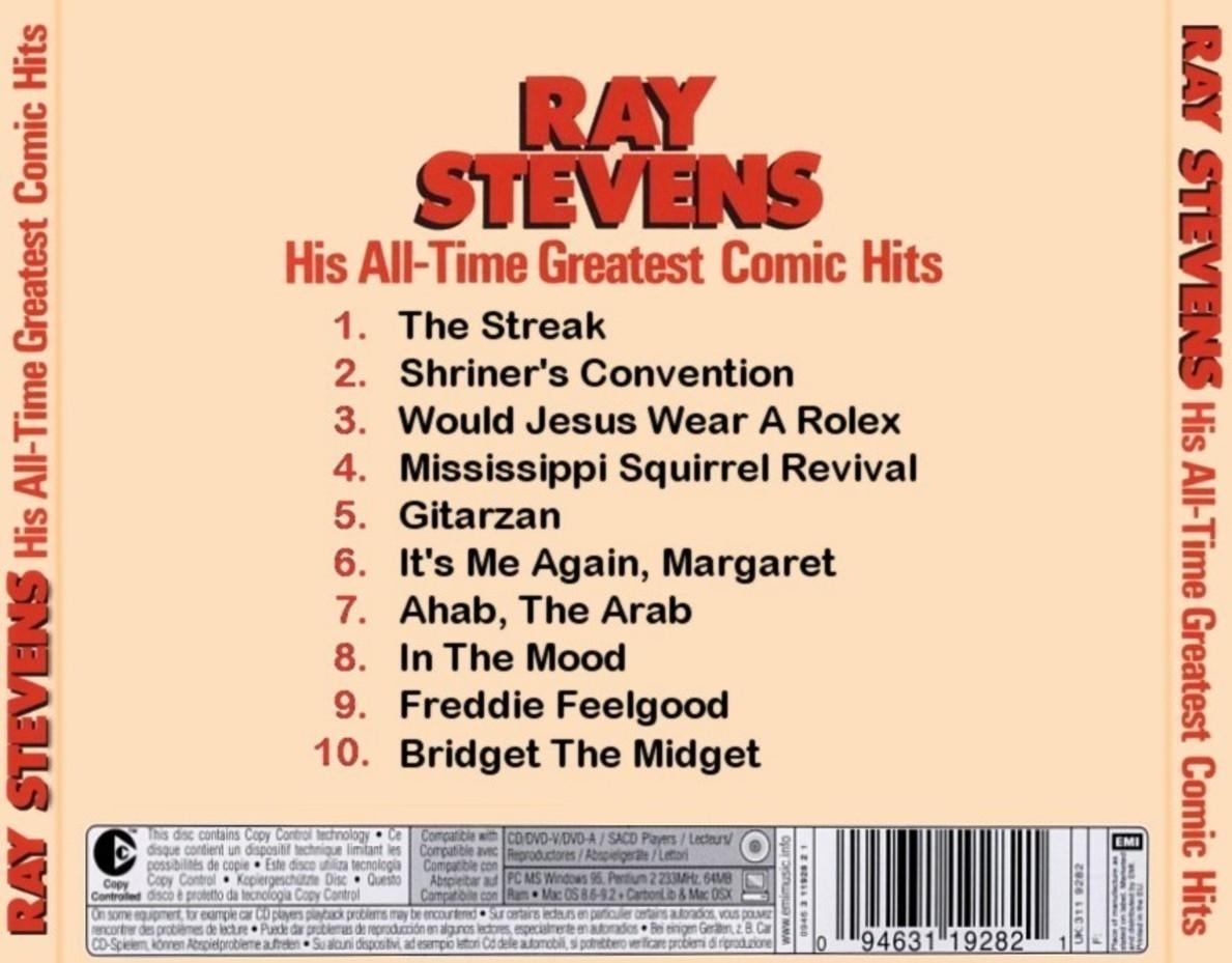 Ray stevens hit singles