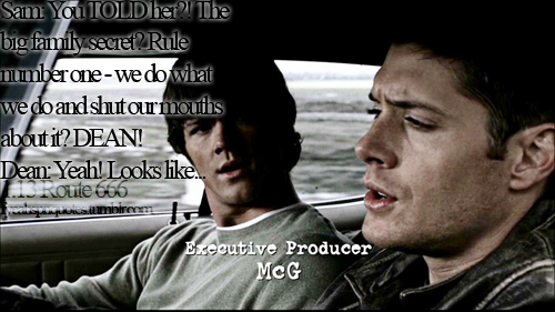 Supernatural Quotes About Family. QuotesGram