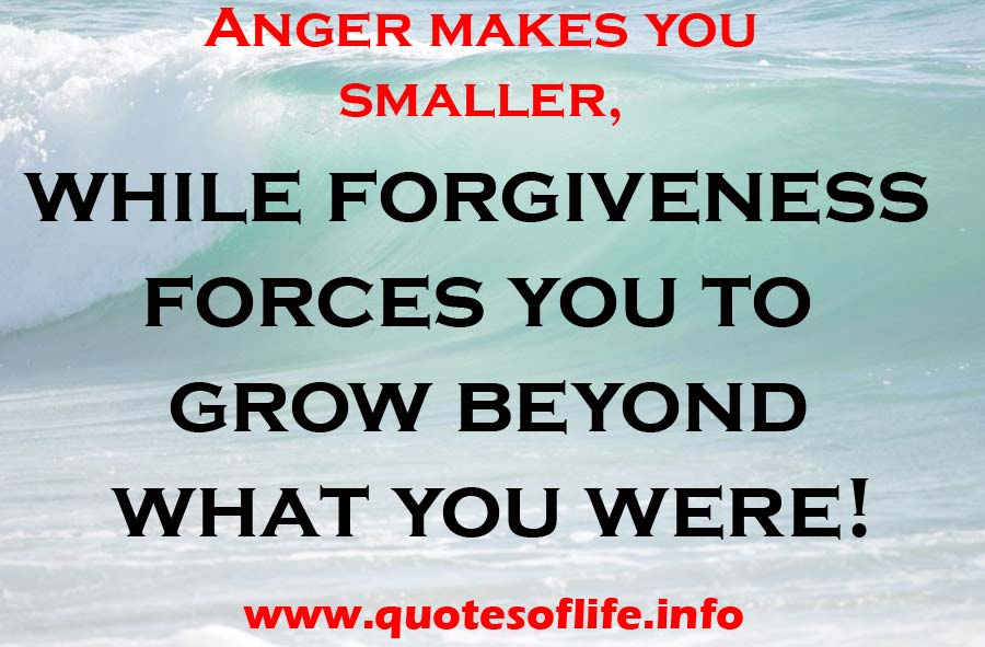how to let go of anger quotes