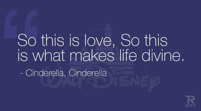 Quotes About Love Disney : Cinderella Love Quotes. QuotesGram