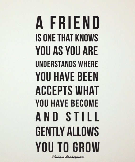 A Good Friend Quote: Quotes About Friends Helping Friends. QuotesGram