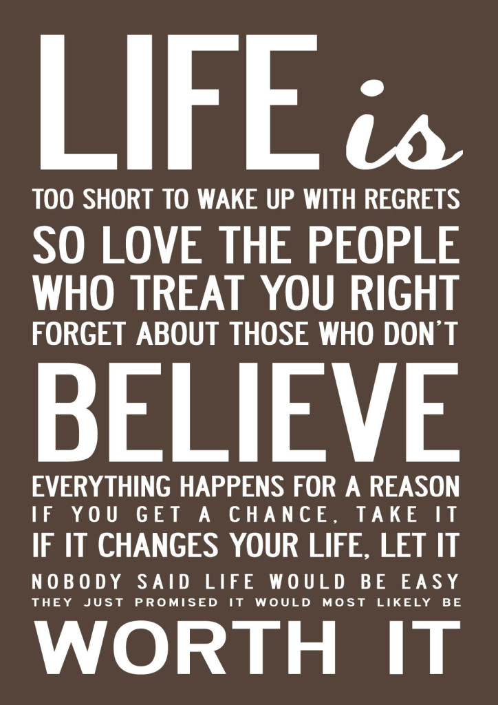 Satisfactory image regarding printable quotes about life