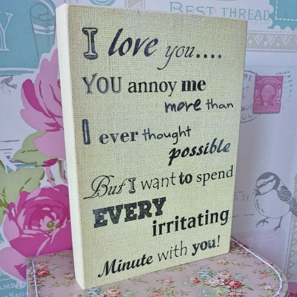 I Love You More Than Quotes: You Annoy Me But I Love You Quotes. QuotesGram