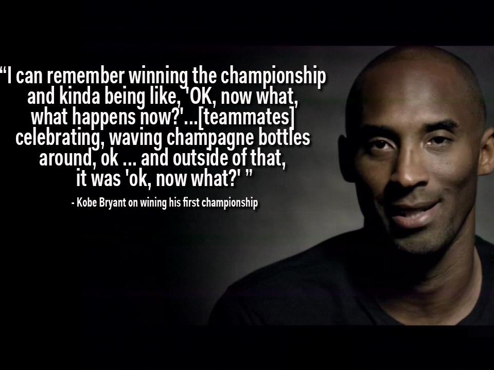 Kobe Bryant Inspirational Quotes Quotesgram