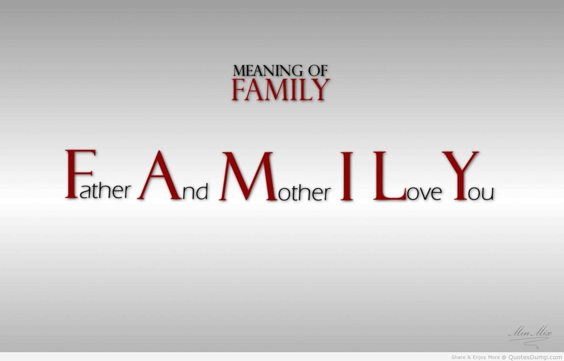 Family Love Quotes And Sayings: Facebook Quotes Love My Family. QuotesGram