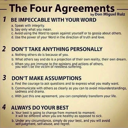 The Four Agreements Quotes