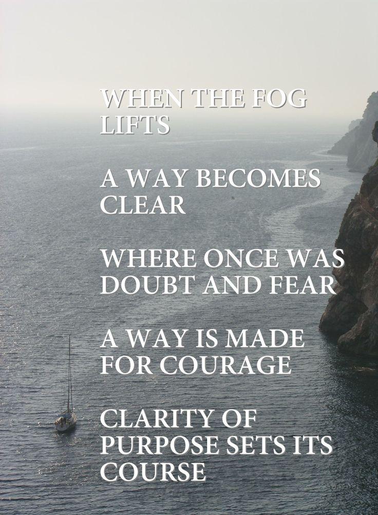 Clarity Of Purpose Quotes. QuotesGram