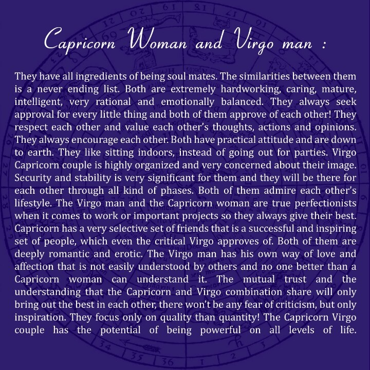 A virgo what man to from expect Virgo Man