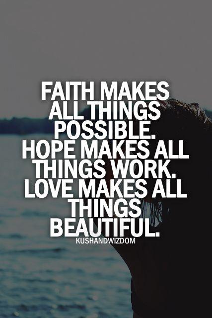 Famous Quotes Faith Ho...