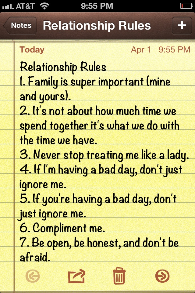Rules For A Girls Bedroom: Relationship Rules Quotes. QuotesGram