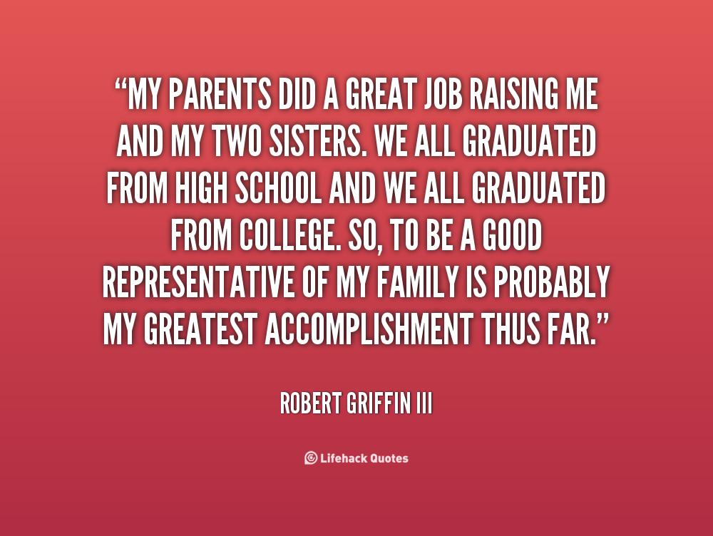 Parents Job Quotes. Qu...