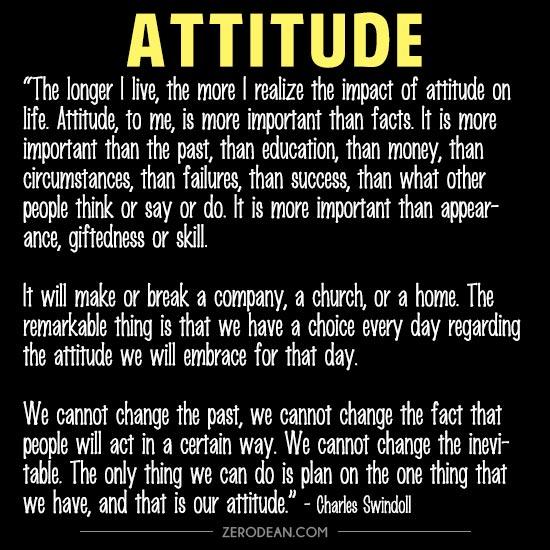 attitude by charles swindoll essay